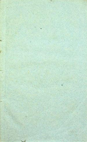 MARKIEWICZ Roman - Rozprawa II. O własnościach fizycznych przez... Kraków 1818