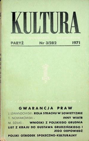 KULTURA PARYŻ Nr.3/282 1971
