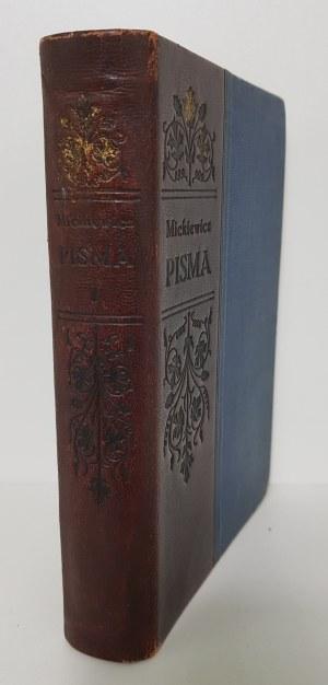 Mickiewicz Adam PISMA tom 1-4 [Radziszewski]