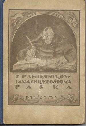 Pasek Jan Chryzostom PAMIĘTNIKI