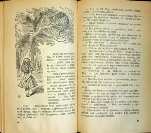 Carroll Lewis PRZYGODY ALICJI W KRAINIE CZARÓW/O TYM CO ALICJA ODKRYŁA PO DRUGIEJ STRONIE LUSTRA Wydanie 1