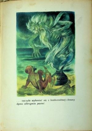 BAŚNIE Z TYSIĄCA I JEDNEJ NOCY Ilustracje SZANCER Wyd. Gebethner i Wolff