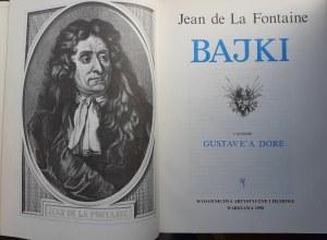 La Fontaine BAJKI z rycinami GUSTAVE`A DORE