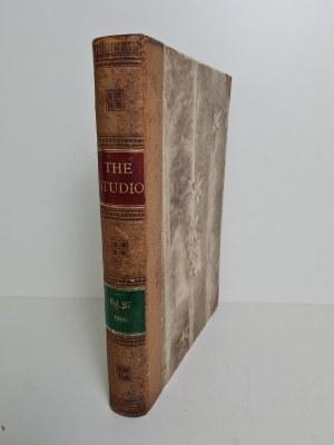 THE STUDIO - ILUSTROWANY MAGAZYN O SZTUCE (1906) OPRAWA INTROLIGATOR WROCŁAW