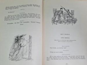Słowacki Juliusz DRAMATY Ilustracje Szancer Wyd.I