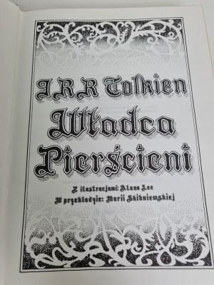 Tolkien J.R.R WŁADCA PIERŚCIENI Ilustracje ALAN LEE Przekład Skibniewska