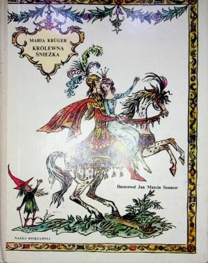 Kruger Maria KRÓLEWNA ŚNIEŻKA Ilustracje SZANCER Wydanie 1
