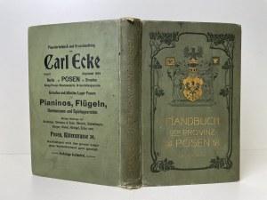 [POZNAŃ] Handbuch der Provinz POSEN.