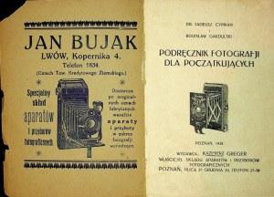 [FOTOGRAFIA] CYPRIAN Tadeusz Dr. i Bolesław GARDUSKI – Podręcznik fotografii dla początkujących