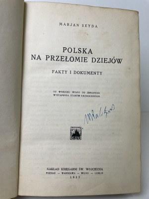 SEYDA Marjan – Polska na przełomie dziejów. Fakty i dokumenty.