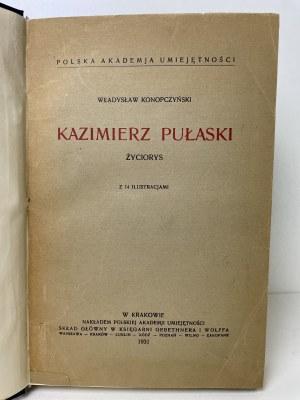 KONOPCZYŃSKI Władysław – Kazimierz Pułaski. Życiorys.