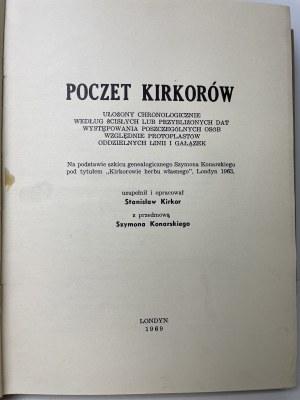 KIRKOR Stanisław - Poczet Kirkorów/Uwagi ogólne o genealogii rodziny Kirkorów litewskich