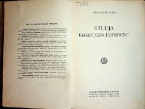 BUJAK Franciszek - Studja Geograficzno-Historyczne