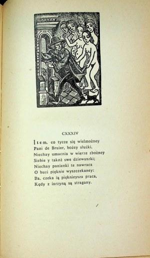 VILLON Franciszek WIELKI TESTAMENT