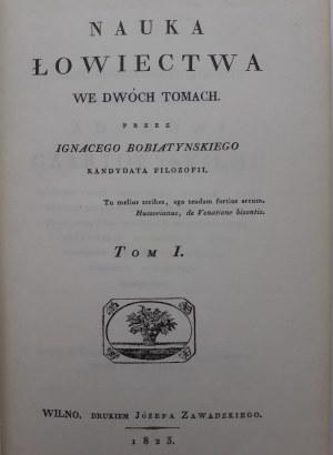 Bobiatyński Ignacy NAUKA ŁOWIECTWA