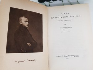 Krasiński Zygmunt PISMA Oprawa RADZISZEWSKI