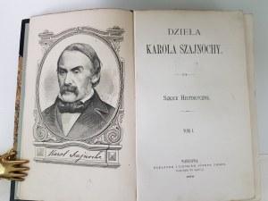 Szajnocha Karol DZIEŁA t.1-10 komplet m.in. JADWIGA I JAGIEŁŁO