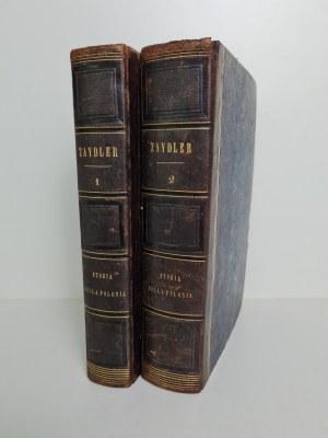 ZAYDLER STORIA DELLA POLONIA Kompletny egzemplarz w oprawie z epoki