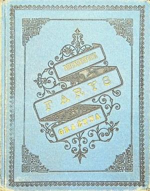 Mickiewicz Adam FARYS.GRAŻYNA, Wyd.Lwów 1882