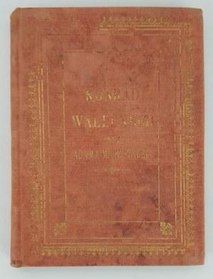 Mickiewicz Adam KONRAD WALLENROD, Wyd.Poznań 1887