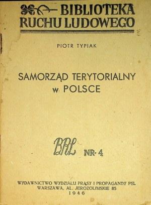 TYPIAK Piotr – Samorząd terytorialny w Polsce.