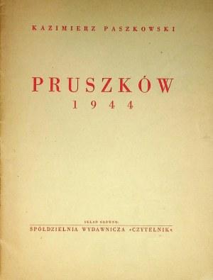PASZKOWSKI Kazimierz – Pruszków 1944