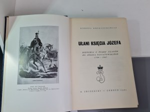 Krzeczunowicz Kornel UŁANI KSIĘCIA JÓZEFA Dedykacja Autora