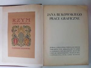 SMOLIK Przecław [właśc. Czesław Wrocki] Jana Bukowskiego prace graficzne