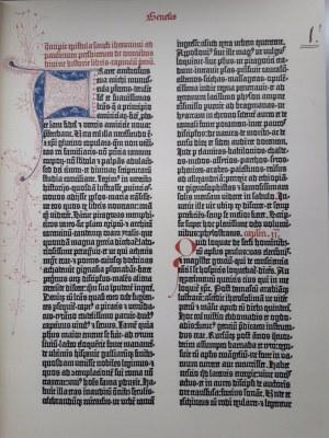 BIBLIA GUTENBERGA FACSIMILE