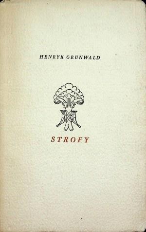 Grunwald Henryk STROFY