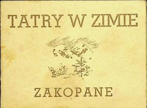 TATRY W ZIMIE ZAKOPANE Albumik fotograficzny Nr XIV