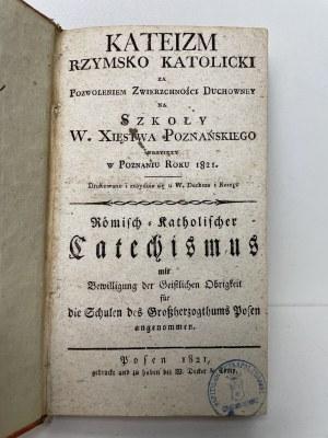 Kateizm rzymsko katolicki Poznań 1821 r.