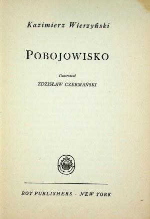Wierzyński Kazimierz POBOJOWISKO il. Czermański Wyd. 1