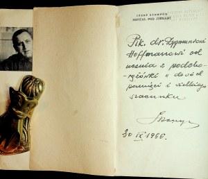 Stompor Józef SZPITAL POD JODŁAMI I INNE OPOWIADANIA Autograf