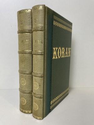 KORAN (Al-Koran) Tom 1-2 Reprint wydania z 1858r.