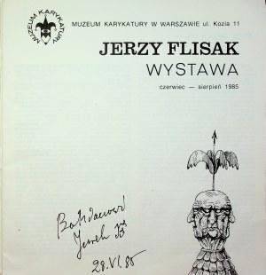 Flisak Jerzy WYSTAWA Autograf