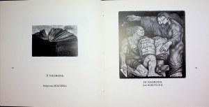 [EXLIBRISY] Szymański 90 LAT BIBLIOTEKI PUBLICZNEJ MIASTA STOŁECZNEGO WARSZAWY - KONKURS NA EKSLIBRIS - KATALOG