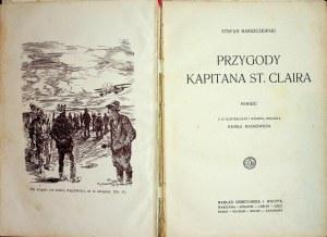 Barszczewski Stefan PRZYGODY KAPITANA ST.CLAIRA Il.Mackiewicz