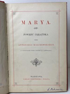 MALCZEWSKI Antoni - Marya ilustracje Andriolli