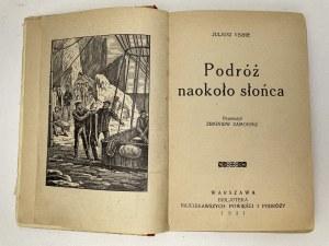 VERNE Juliusz - Podróż naokoło słońca, 1931r.