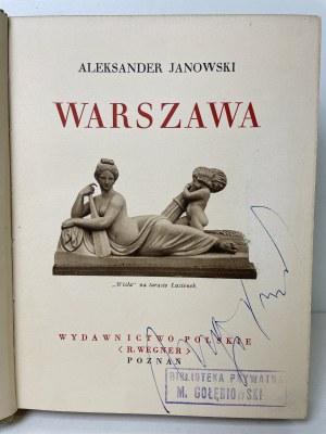 [CUDA POLSKI] JANOWSKI Aleksander - Warszawa