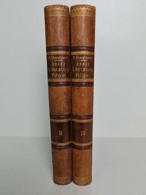 Chmielowski Piotr OBRAZ LITERATURY POLSKIEJ tom 2-3, Wyd.1898