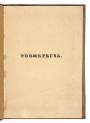 NIEMCEWICZ Julian Ursyn Prometeusz Poema Lipsk 1854