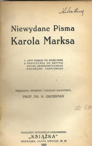 Engels ROZWÓJ SOCJALIZMU..Marks LISTY ...Bogdanow WYKŁAD ..Białowąs SPRAWA ROBOTNICZA..