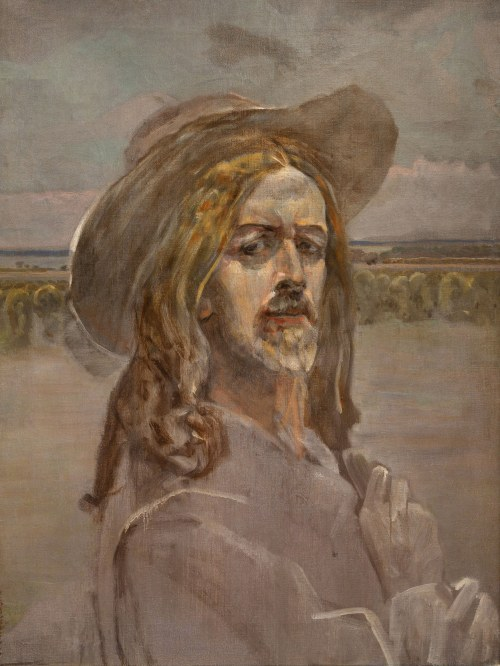 Jacek Malczewski (1854 Radom - 1929 Kraków), Autoportret
