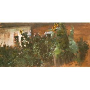 Julian Fałat (1853 Tuligłowy - 1929 Bystra), Słoneczniki