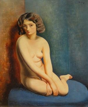 Mojżesz Kisling (1891 Kraków - 1953 Sanary-sur-Mer), Akt, przed 1932 r.