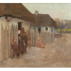 Władysław Podkowiński (1866 Warszawa - 1895 tamże), Wieś II, 1890-1891 r.