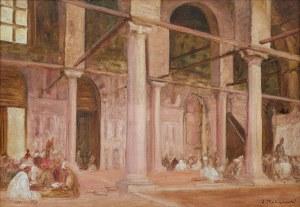 Jacek Malczewski (1854 Radom - 1929 Kraków), Kupcy arabscy, 1884 r.