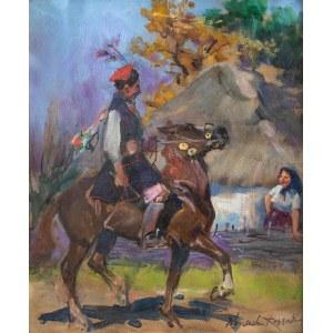 Wojciech Kossak (1856 Paryż - 1942 Kraków), Drużba krakowski